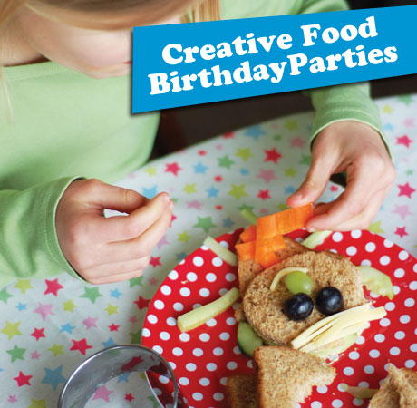 Creative Food Birthday Party